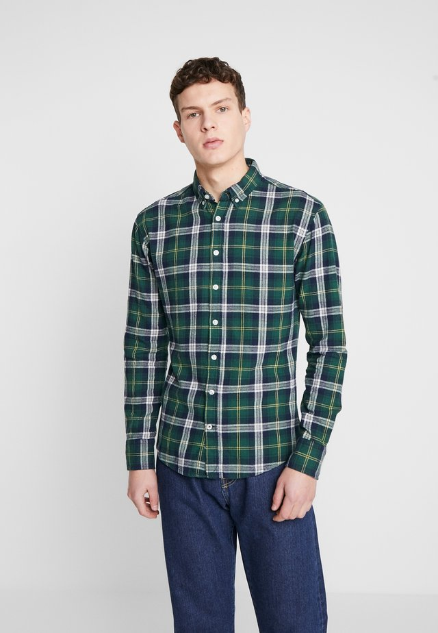 FANNEL SHIRT - Hemd - green