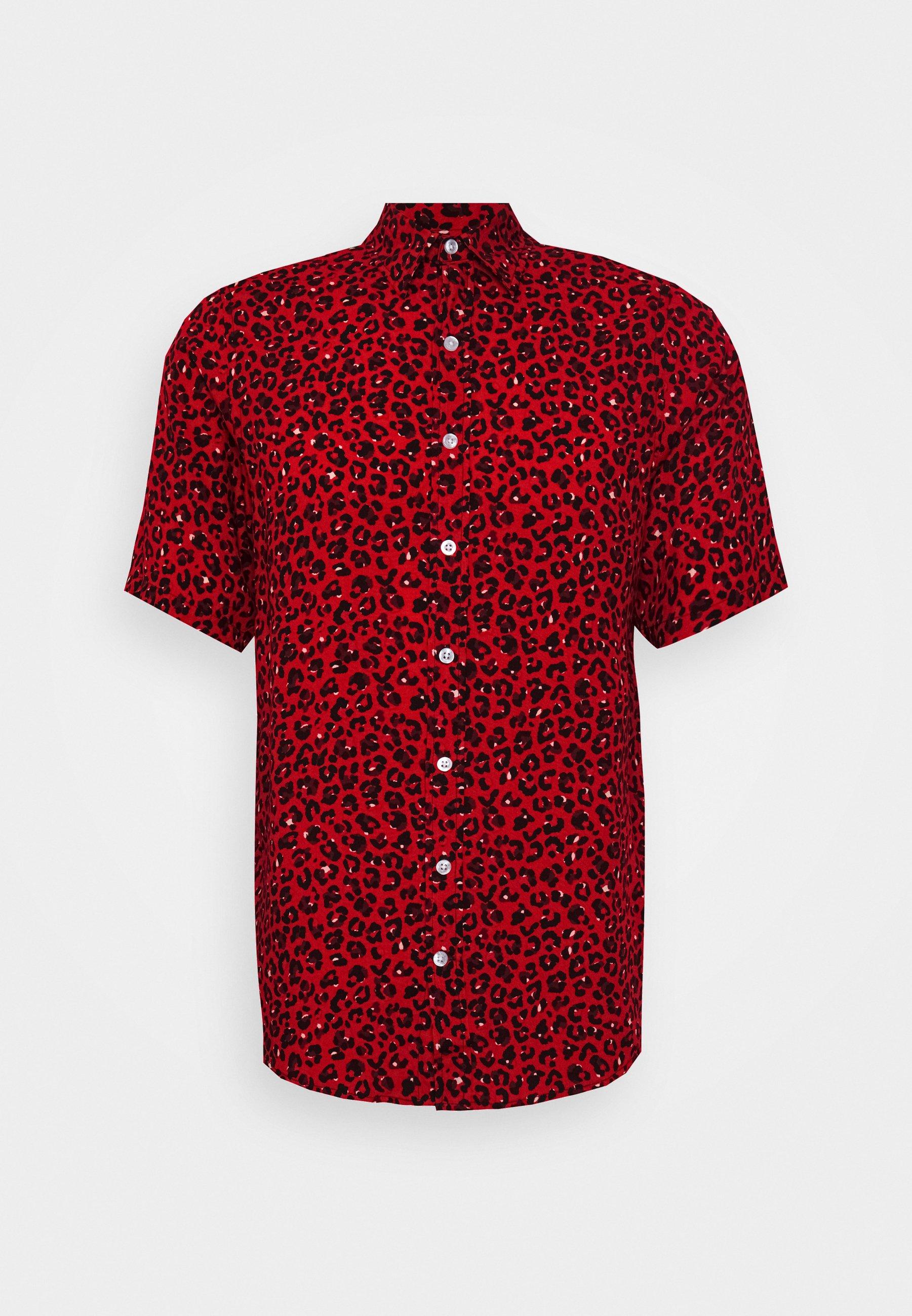 Denim Project GRANDE SHIRT - Koszula - red