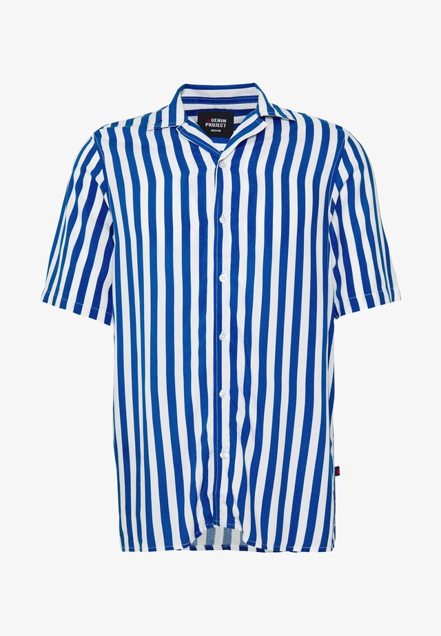 NEW CUBA SHIRT - Hemd - navy/white