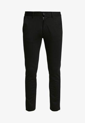 PONTE ROMA PLAIN - Spodnie materiałowe - black
