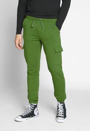MENE - Pantalones deportivos - olive