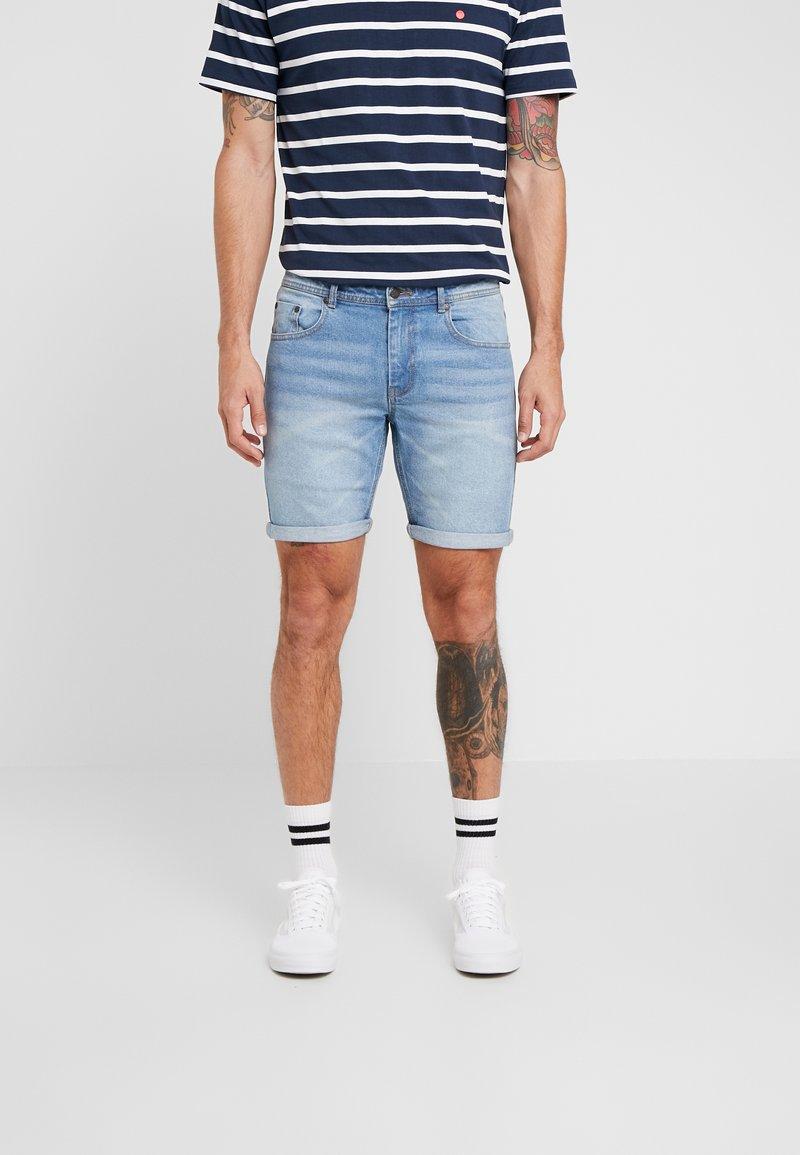 Denim Project - MR. ORANGE - Denim shorts - heavy worn indigo