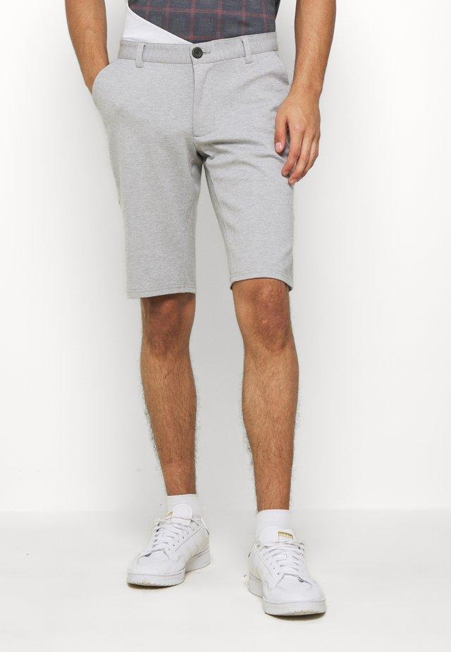 PONTE  - Shorts - mottled light grey