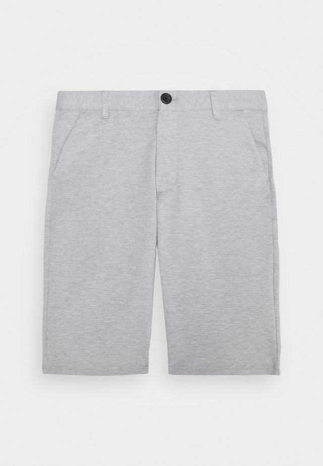PONTE  - Shorts - mottled light grey