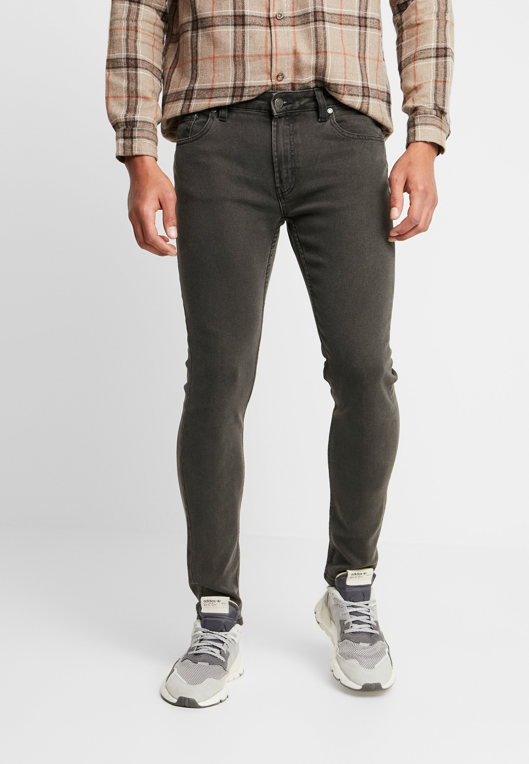 Denim Project MR. RED - Jeansy Skinny Fit - grey