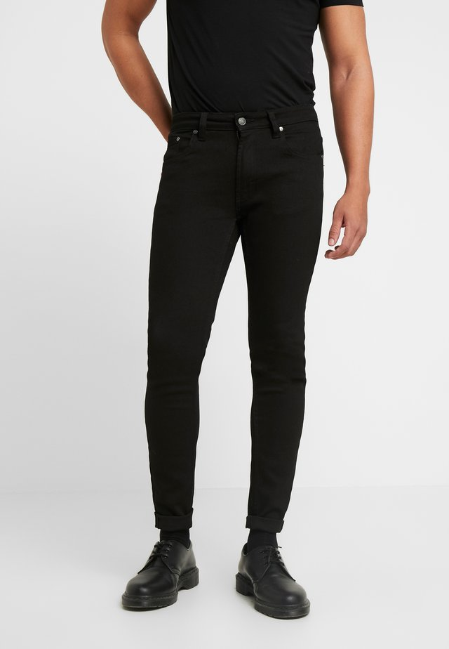 MR. RED - Jeansy Skinny Fit -  black