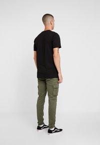 Denim Project - BOX LOGO TEE - T-shirt print - black - 2
