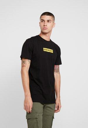 BOX LOGO TEE - T-shirt print - black