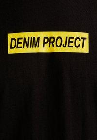 Denim Project - BOX LOGO TEE - T-shirt print - black - 5