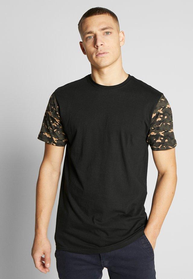 FERNANDO - T-shirts med print - black