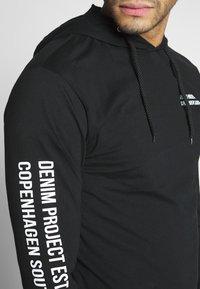 Denim Project - LUCA - Pitkähihainen paita - black - 5
