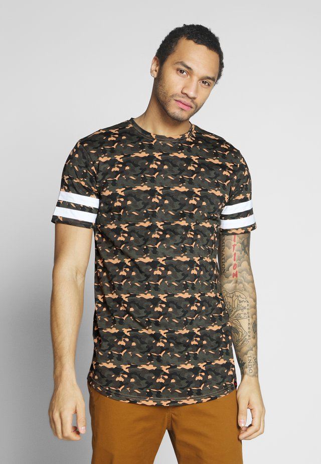 ALBERTO - Print T-shirt - camo