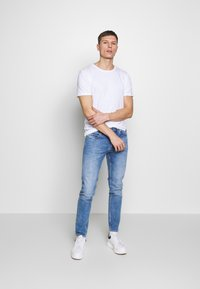 Denim Project - PABLO 2 PACK  - T-shirt basic - white - 1