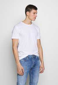 Denim Project - PABLO 2 PACK  - T-shirt basic - white - 2