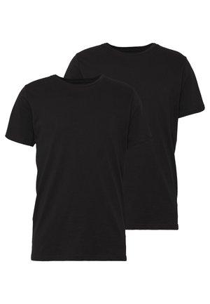 PABLO 2 PACK  - T-shirt - bas - black