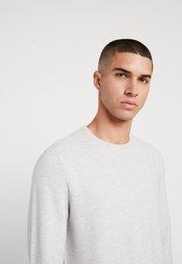 Denim Project - KABIR  - Stickad tröja - light grey - 3