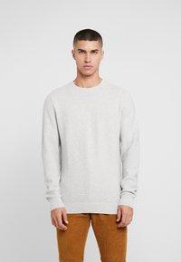 Denim Project - KABIR  - Stickad tröja - light grey - 0