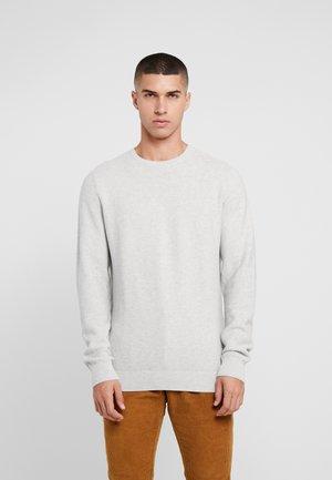 KABIR  - Stickad tröja - light grey