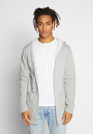 LALA - Zip-up hoodie - mottled light grey