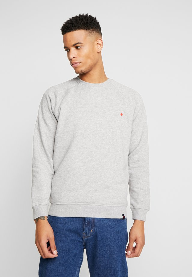 DOT CREW - Sweatshirt - light grey melange