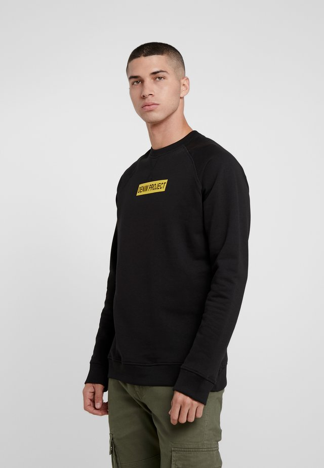 BOX LOGO CREW - Sweatshirt - black