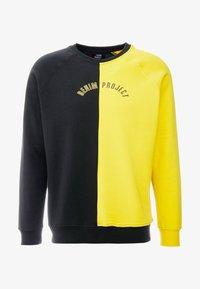 Denim Project - CREW - Sweatshirt - black/yellow - 4