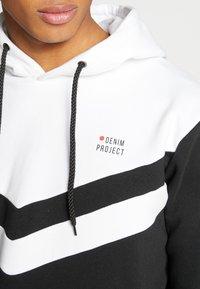 Denim Project - SUNU - Hoodie - white/black - 5