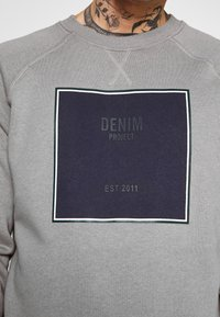 Denim Project - CARLOS - Sudadera - grey - 5