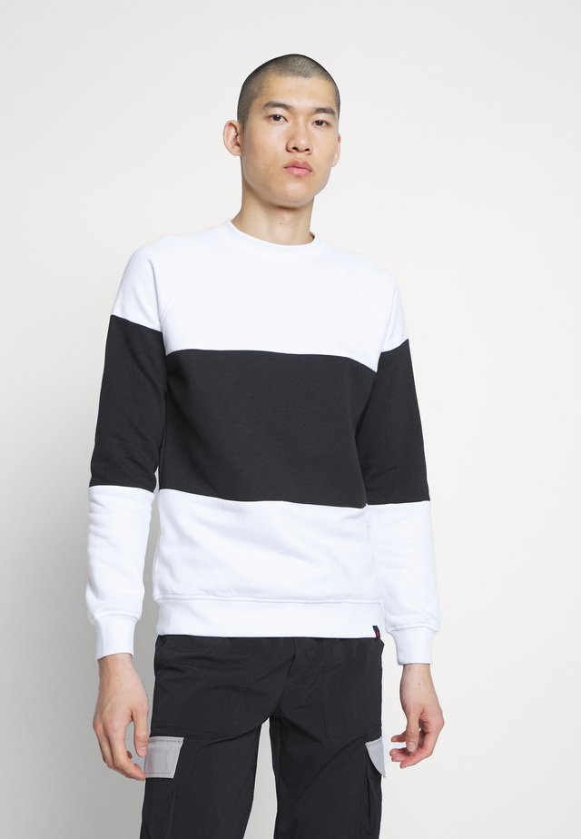 ALPI - Sweatshirt - white/black
