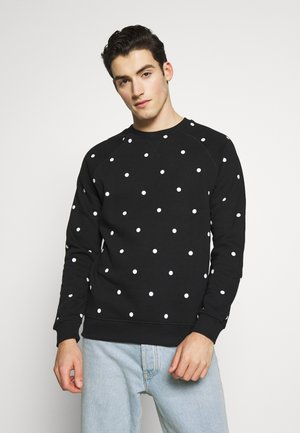 PARDO DOT CREW - Sweater - black/white