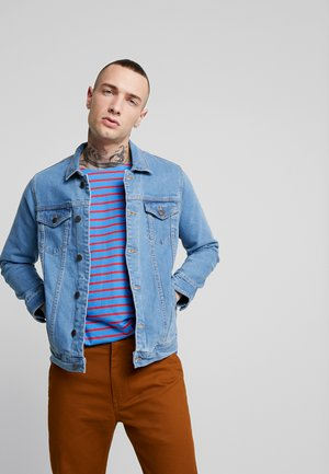 KASH JACKET - Spijkerjas - light blue