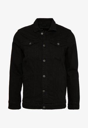 KASH JACKET - Džínová bunda - black dot