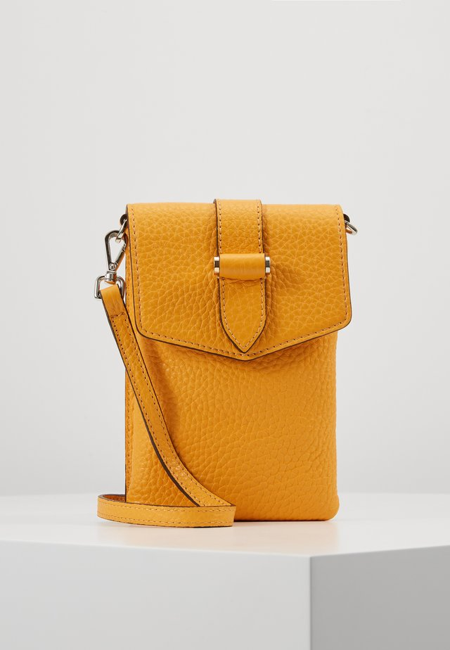 GINA MOBILE CROSS OVER - Across body bag - golden yellow