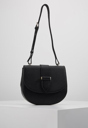 KIM SATCHEL BAG - Across body bag - black