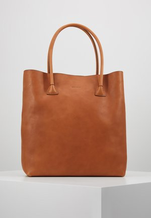 ELSA PLAIN TOTE - Shopping Bag - cognac