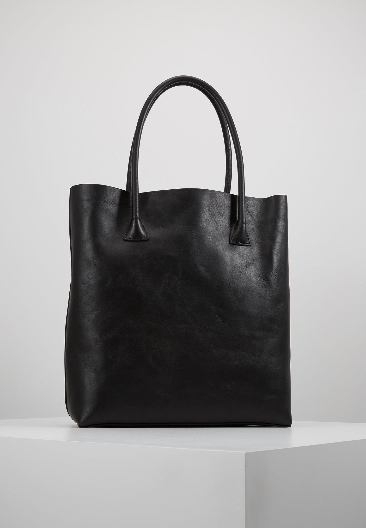 Decadent Copenhagen Elsa Plain Tote - Shoppingveske Black