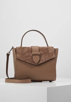 CARRIE SMALL TOTE HANDLE - Handbag - nougat