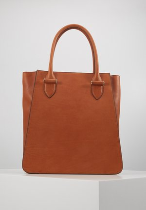 PHOEBE BIG TOTE - Shopping Bag - cognac