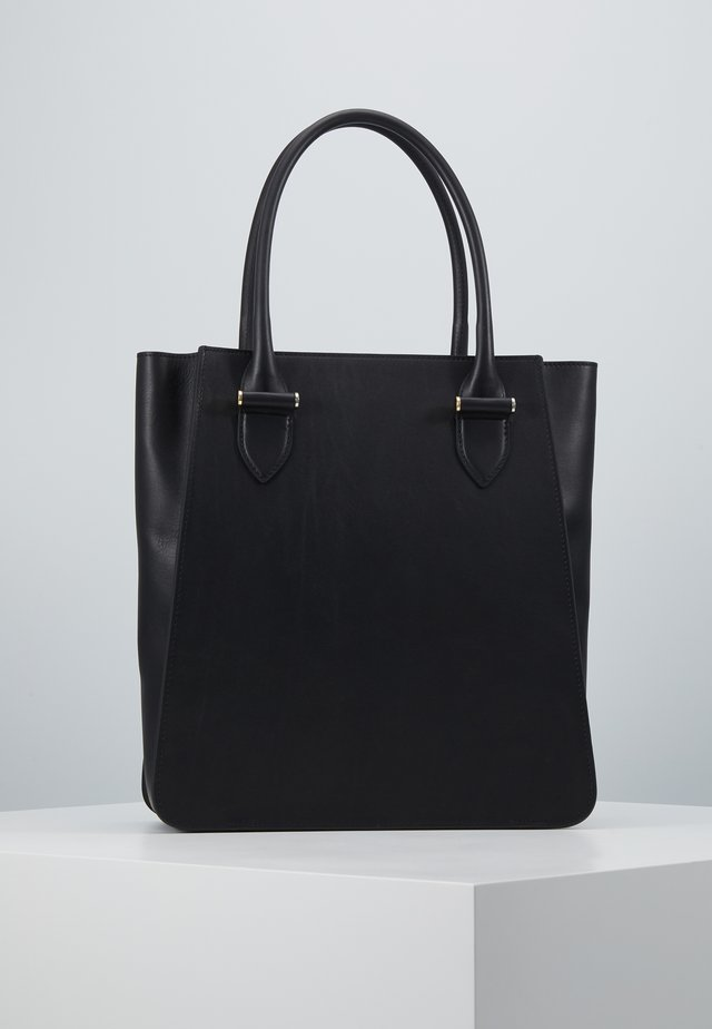 PHOEBE BIG TOTE - Shopping bag - black