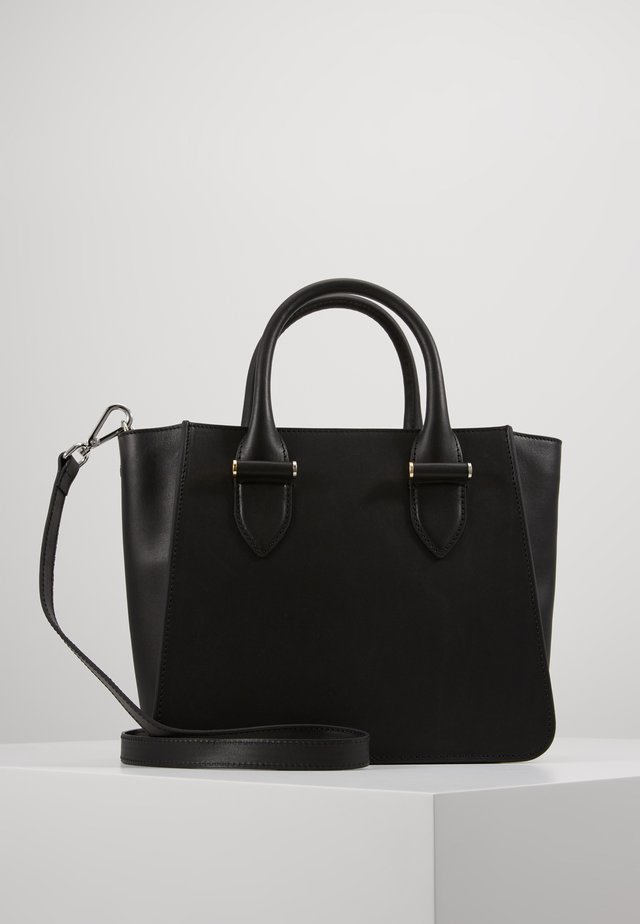 LYNETTE SMALL TOTE - Handbag - black