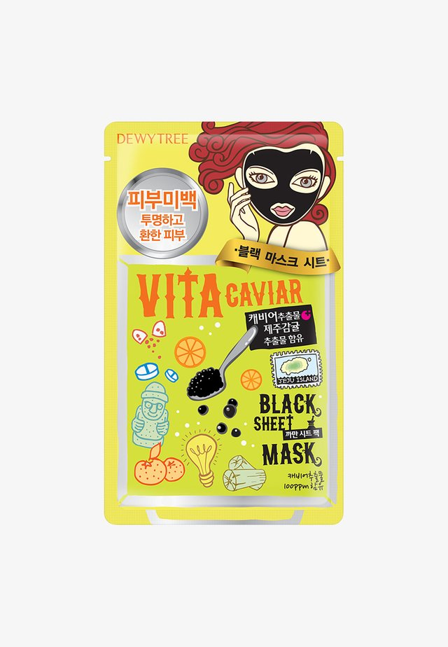 VITA CAVIAR BLACKMASK - Face mask - -