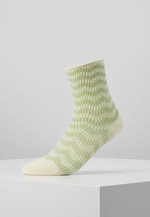 KAREN ZIG ZAG - Socken - yellow/mint