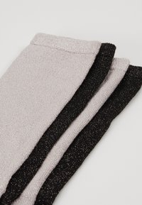 Dear Denier - MEI SOFT 2 PACK - Sokker - black/pale pink - 2