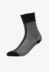 Dear Denier - HEDVIG HERRINGBONE - Socks - black - 1