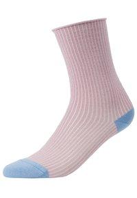 Dear Denier - MALENE GLITTER - Socks - rose/blue - 0
