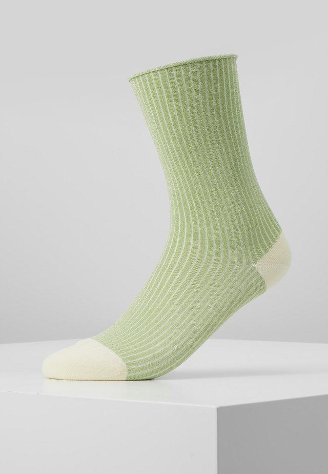 MALENE GLITTER - Ponožky - mint/yellow