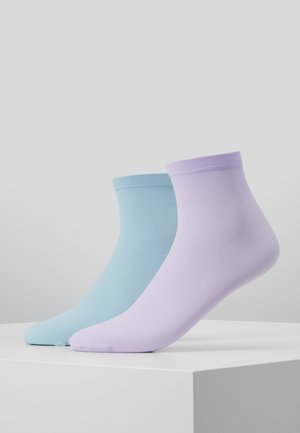 LINE POP SOCKS 2 PACK - Sokker - pastel purple/pastel blue