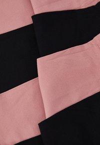Dear Denier - LINE POP SOCKS 2 PACK - Socks - black/old rose - 2