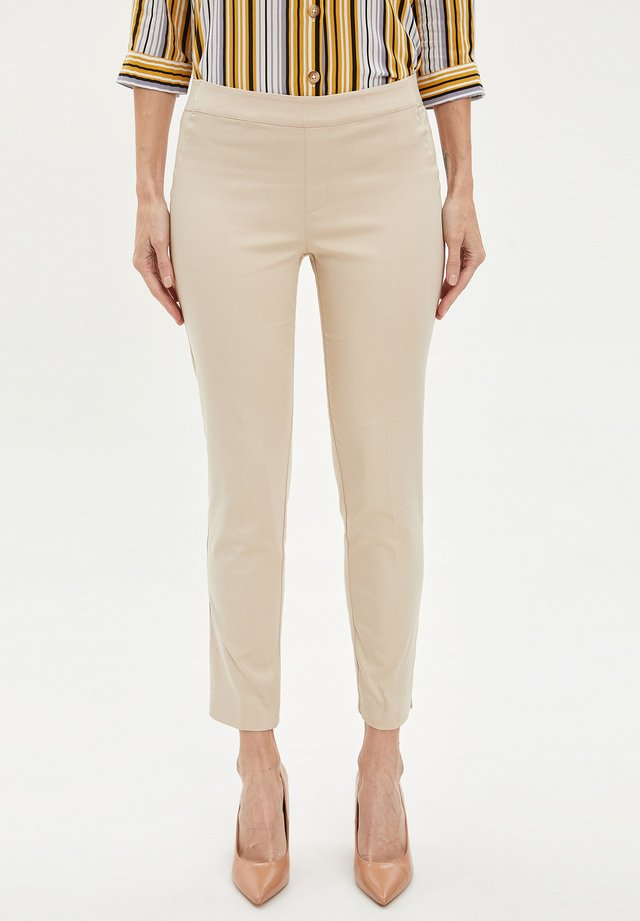 Spodnie materiałowe - ecru