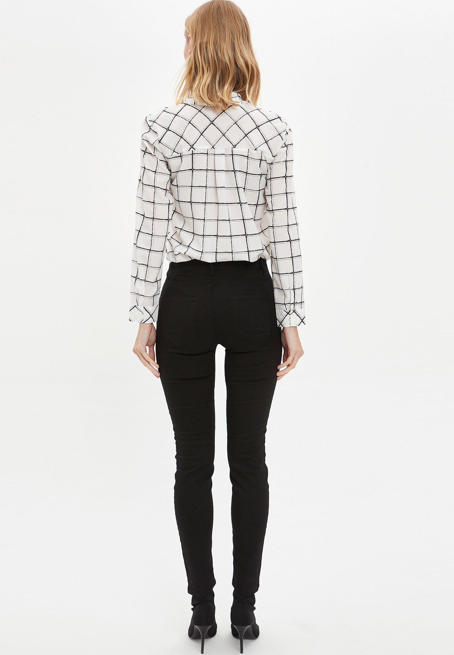 DeFacto Jeansy Skinny Fit - black